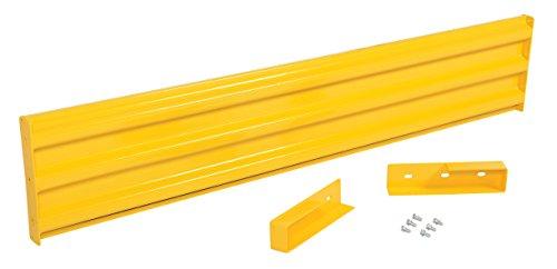 (Vestil YGR-LO-7 Structural Guard Rail, Yellow, 78