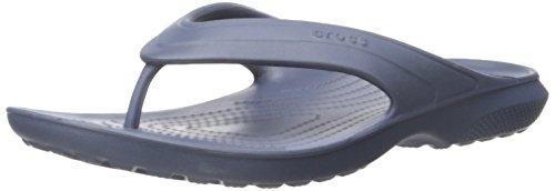 crocs Classic Flip Navy, Unisex-Erwachsene Pantoffeln, Blau (Navy 410), 38/39 EU (5 Erwachsene UK)
