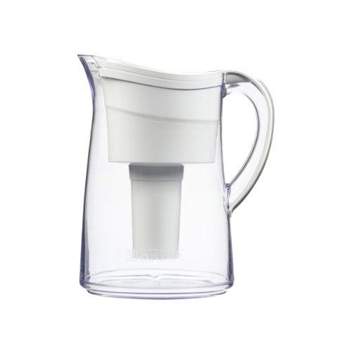 Brita Vintage Water Filter Pitcher, White, 10 Cup