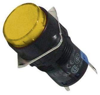 IDEC 24V LED Amber AL6M-P4-A 16MM Panel Mount Indicator