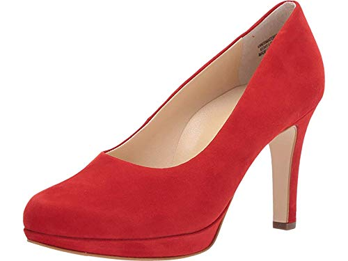 Paul Green Women's Sabrina Pump Red Suede 8 M US