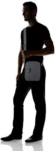 Size Ashton Hombre KLEIN para Flat Gris ACCESSORI One CALVIN Bolsas Crossover 6xT7qzU