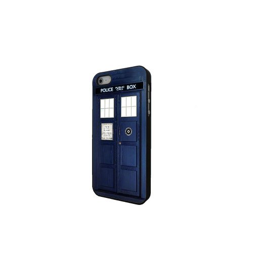 Tardis Doctor Iphone Cover Black product image