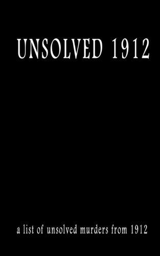 Unsolved 1912 PDF