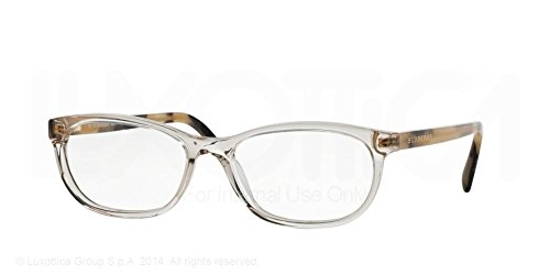 Burberry Eyeglasses BE2180 3503 Transparent Grey 54 16 - Collection Burberry