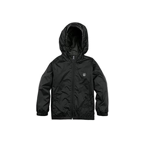 Volcom Little Boys' Ermont Hooded Windbreaker Jacket Black ()