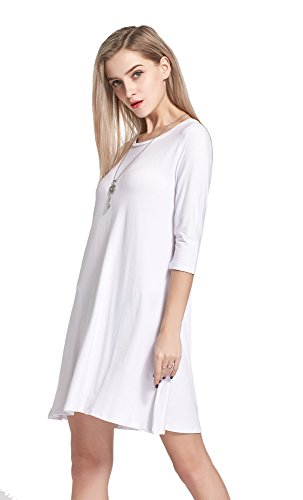 one sleeve white dresses for juniors - 5