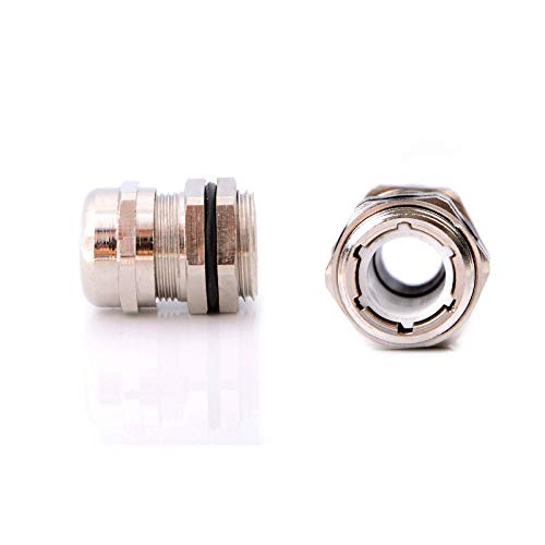 PG11 Stainless Steel  Waterproof Gland For 5-10mm Cables BEST US