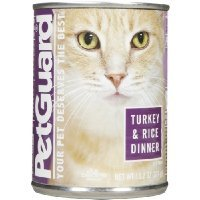 (Pet Guard Turkey and Rice Food for Cats, 14-Ounce Cans (Pack of 12))