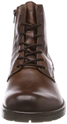 Herren Jackamp; Jfworca Leather Cognac Noos Jones Boot v6IbmYf7gy