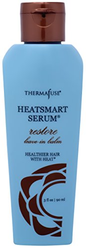 Thermafuse HeatSmart Serum Restore Leave In Balm (3 ounce) Used as a Leave In Conditioner it Repairs, Conditions, Smoothes, Adds Moisture to Dry, Damaged Hair & Repairs Split Ends and Breakage