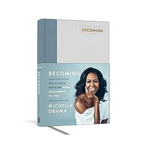 Becoming: Un diario guiado de Michelle Obama | Regalo para lectores, Letras y Latte