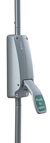 Briton 372.SE Vertical Bolt Push Pad Exit Device - Silver Allegion
