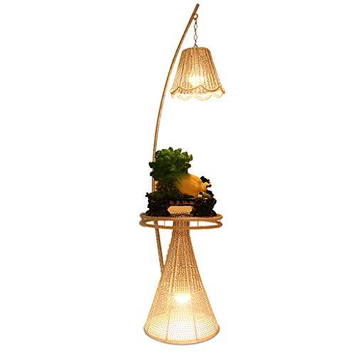(BLAKQ Floor Lamp Simple Telephone Stand Coffee Table Floor Lamp Living Room Bedroom Bedside Shelf Floor Lamp -754Floor Lamps)
