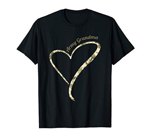Proud Army Grandma - Army Grandma Camouflage T-Shirt