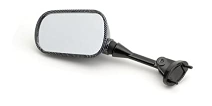 Yana Shiki MIR16CBL Carbon OEM Style Left Side Mirror for Kawasaki ZX 636//ZX6 R
