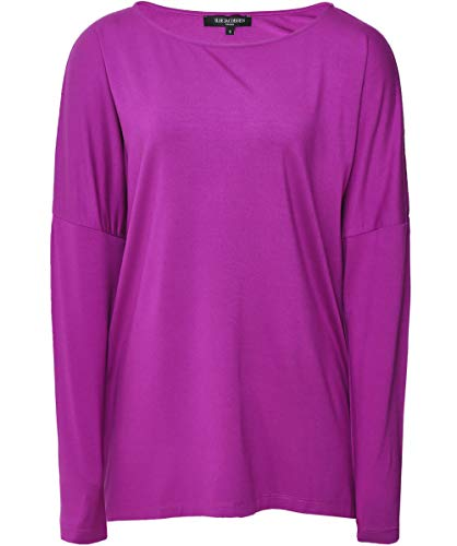 Jersey Manica Da Rosa Lunga Top Ilse Donna In Jacobsen x7wUWz6q