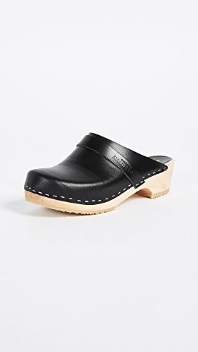 swedish Women's Swedish Husband hasbeens Clog Black 8rH4w8Pxq