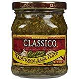 Classico Traditional Basil Pesto Sauce (8.1oz Jar) (3 Pack(8.1oz Jar))