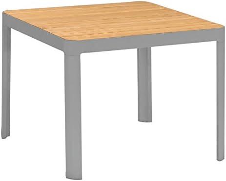 Dehner Table de Jardin Montagnes, env. 95 x 95 x 75 cm, Bois ...