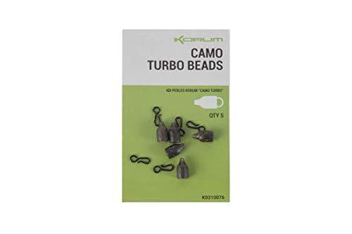 Korum Camo Turbo Beads Qty 5
