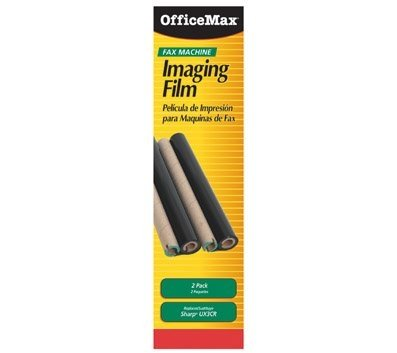 - OfficeMax Black Fax Refill Rolls, 2-Pack Compatible Sharp UX-3CR