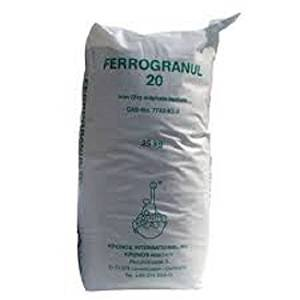 PREMIUM Ferrogranul Iron Sulphate powder 1 Kg Tub PURE LAWN TONIC- Sulphate of Iron Lawn Conditioner and Moss Killer. PWS