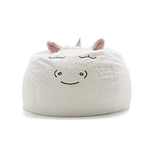 Big Joe Lux 7690UNI Wild Bunch Unicorn, Super Soft Plush Bean Bag