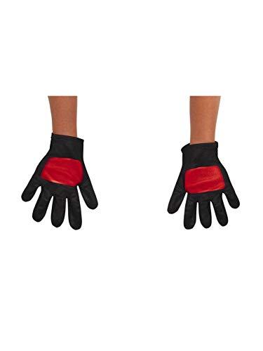 Power Rangers Ninja Steel Toddler Gloves, Red, One