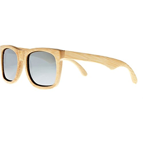 Hampton Khaki (Earth Wood Women's ESG036B Hampton Sunglasses, Khaki)