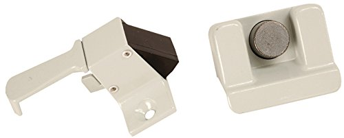 RV Designer E309, Folding Coleman Camper Trailer Screen Door Latch, Entry Door Hardware (Awning Door Screen)