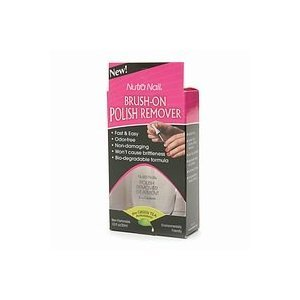 Amazon.com : Nutra Nail Brush-On Polish Remover plus Green Tea ...
