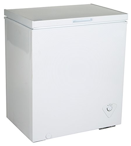 Koolatron KTCF155 5.0 cu. ft. Chest Freezer, White
