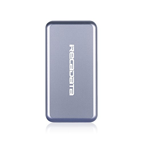 iRecadata M30 Portable SSD, 512G Mini External Solid State Drive with Encryption Function, USB 3.0, mSATA III MLC SSD Built-in, Gray by irecadata