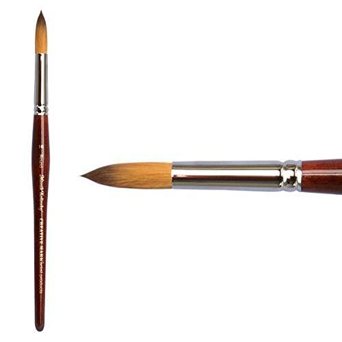 Creative Mark Mimik Kolinsky Synthetic Sable Short Handled Brush- Round #16