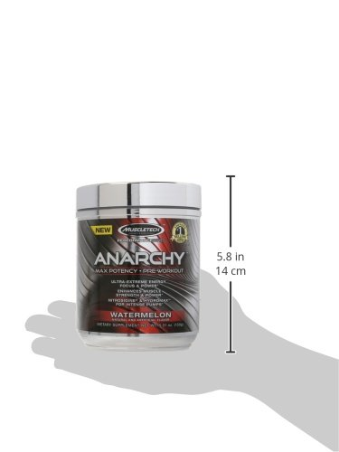 MuscleTech Anarchy Pre-Workout Water Melon Powder, 150 Gram