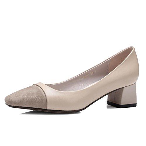 d4132d18 80% OFF GAOLIXIA Bombas de cuero de las mujeres de tacones altos zapatos de  moda