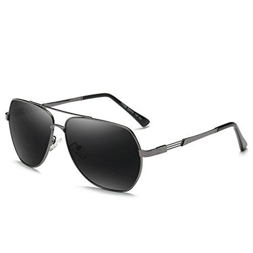Negro Sol De S Valentín De Polarizadas Gafas Regalos Hombres Uv Para Sol Cajas Sol San Personas Ojos Decoraciones Conducir De Gris Día Gafas De Protección black LLZTYJ Controladores and gray Gafas S Gafas Yqwpgg