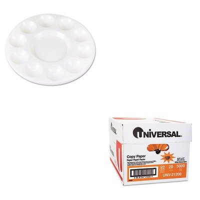 KITCKC5924UNV21200 - Value Kit - Chenille Kraft Round Plastic Paint Trays for Classroom (CKC5924) and Universal Copy Paper (UNV21200) by Chenille Kraft