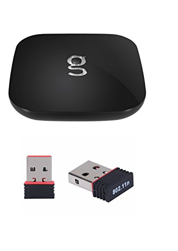 Newest Matricom G-Box Q2 Quad/Octo Core Android TV Box [2GB/16GB/4K] (Rev 1.2) With Hdmi Cable and Bonus Wifi Dongle Package (no add ons included)