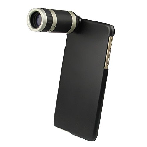 Telephone Lens (Shopping_Shop2000 8X Optical Manual Focus Telescope Telephoto Camera Lens with Phone Case Cover Kit for iphone 7 (4.7