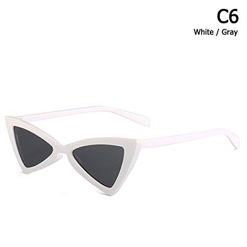 Eye C6 Sol Sol De Limotai Gafas Gafas Estilo C12 Gafas De Triangular Cat De Solnuevo Mujer nqTXwZ
