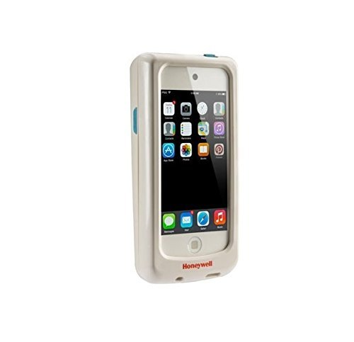 Honeywell SL22-023302-H-K Series Captuvo SL22 Enterprise Sled for Apple iPod Touch Mobile Computer, HD Imager with Green LED Aimer, EXT. Battery, Disinfectant Ready Housings, White