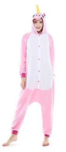 US TOP Unicorn Adult Animal Kigurumi Cosplay Costume Pajamas Onesies - Womens Sully Costumes