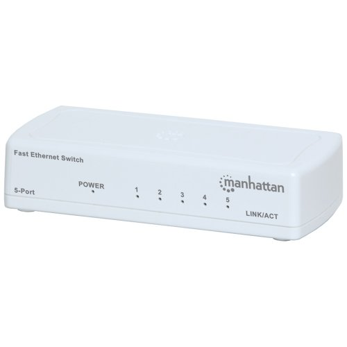 MANHATTAN 560672 Fast Ethernet Office Switch (5 Port) electronic consumer by Manhattan