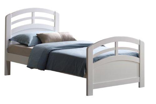 ACME San Marino White Twin Bed