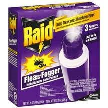 Raid Flea Killer Plus Fogger 3 CT, 5 OZ (Pack - 1)