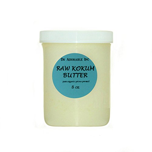 Kokum Butter RAW Organic 100% Pure 8 Oz