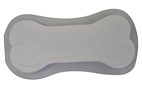 Dog Bone 16 Inch Concrete Plaster Stepping Stone Mold 1130 ()