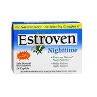 (Estroven Estroven Nighttime Caplets, 24 CAPLETS (Pack of)